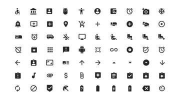 Google Slides infographic icons