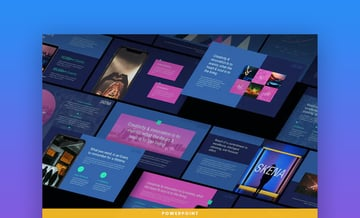 Skena Creative PowerPoint template