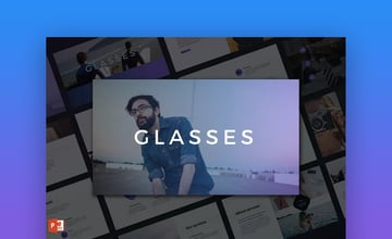 Glasses PowerPoint template