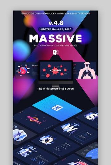 Massive X Microsoft PowerPoint Templates