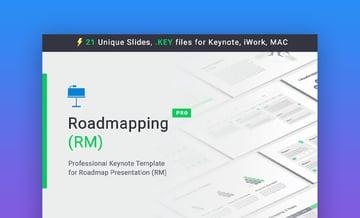 Roadmapping Keynote Timeline Template