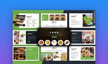 Restaurant PowerPoint Presentation templates