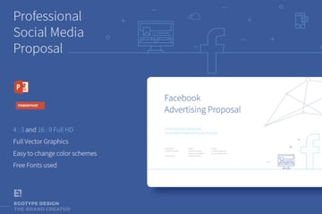 Social media marketing proposal PowerPoint