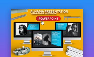 Alanama Modern PowerPoint templates