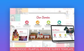 Childhood fun Google Slides templates