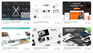 Elements custom PowerPoint