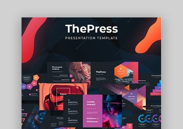 ThePress PowerPoint custom theme