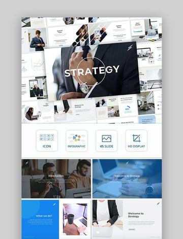 Change management slide deck