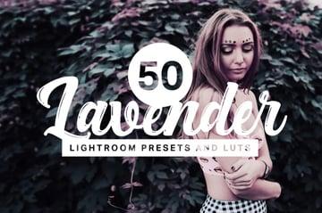 50 Lavender Lightroom presets