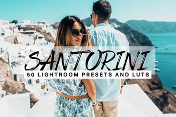 Santorini Lightroom presets