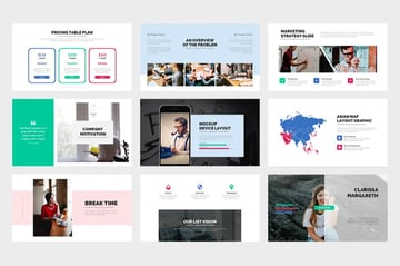 PowerPoint booklet template intro
