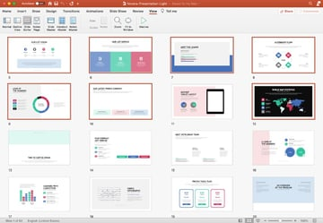 Step 1 PowerPoint brochure templates