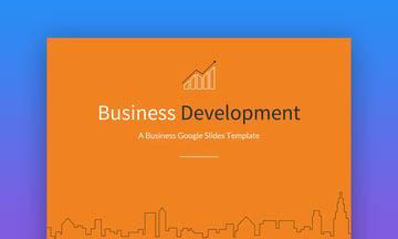 Business development Google Slides templates for business