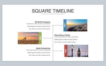 Step 5 timeline template for Keynote