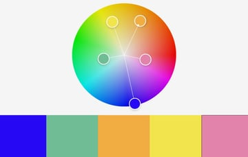 Colors colorful PowerPoint templates