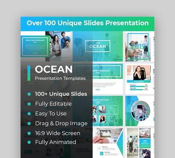 Google Slides ocean theme