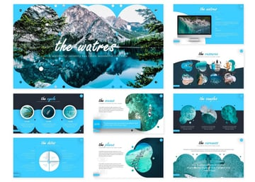 Ocean template Google Slides