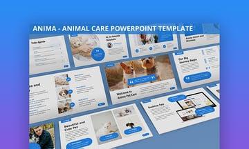 Farm animals PowerPoint template
