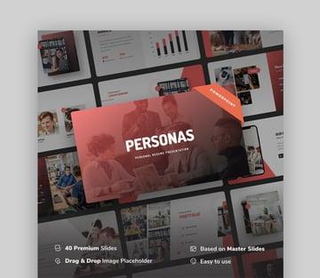 Personas CV PPT PowerPoint