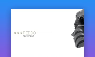 Reddo modern PowerPoint template