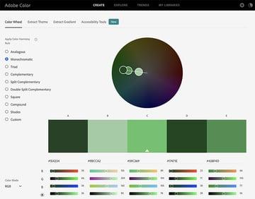 Best presentation Adobe Colors