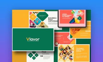 Vlavor best presentation color palette