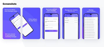 Textblast business messaging app