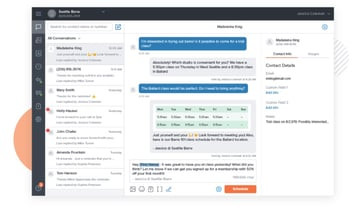 Zipwhip business messaging app