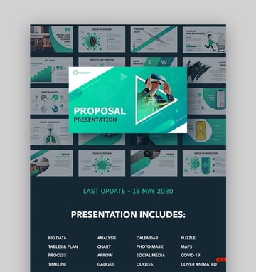Animated PowerPoint template