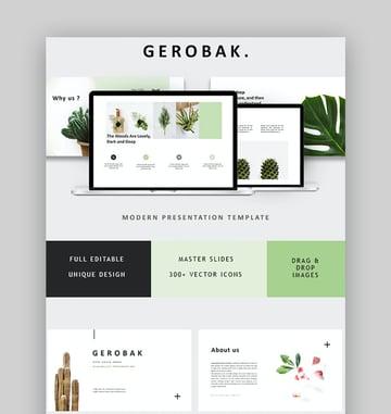 Gerobak animated PowerPoint templates