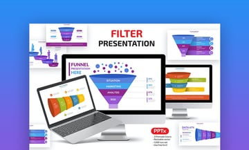 Funnel graphic PowerPoint