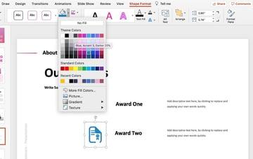 Color how to make a slide deck
