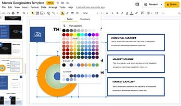 Infographic Google Slide deck templates