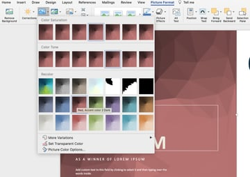 Background editable certificate template Word