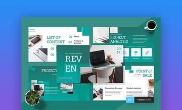 Reven Keynote pitch deck