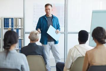 Presentation audience Elements