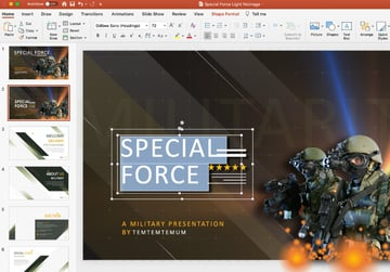 Army PowerPoint background