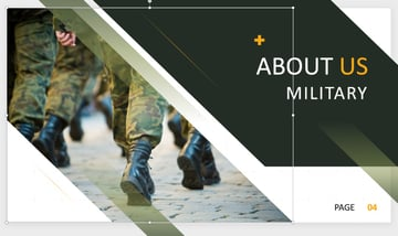 US Army PowerPoint template