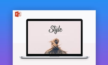 Style PowerPoint cover page
