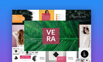 Vera PowerPoint cover page