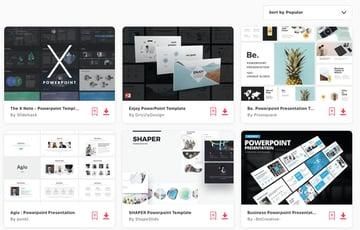 Premium presentation Elements