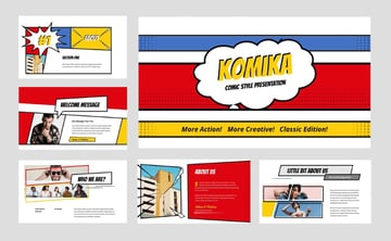 Comic PowerPoint characters