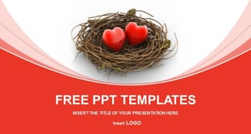 Free love PowerPoint backgrounds