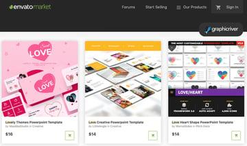 GraphicRiver love presentation template
