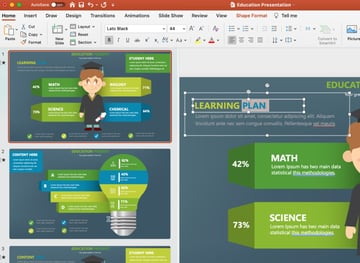Whiteboard PowerPoint template