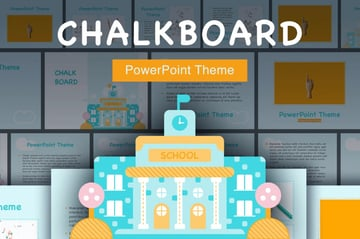 Whiteboard PPT template