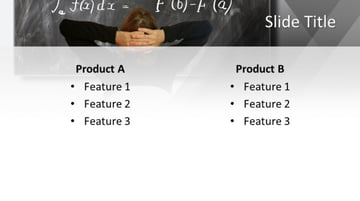 Free Google Slides math themes