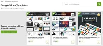 GraphicRiver math template Google Slides
