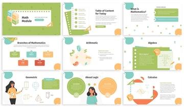 Intro how to make math presentation