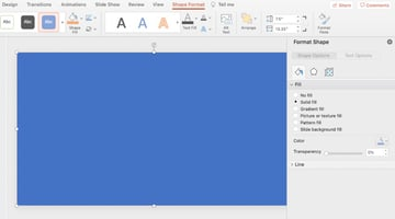 Backgrounds in PowerPoint